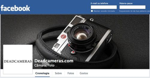 Deadcameras facebook
