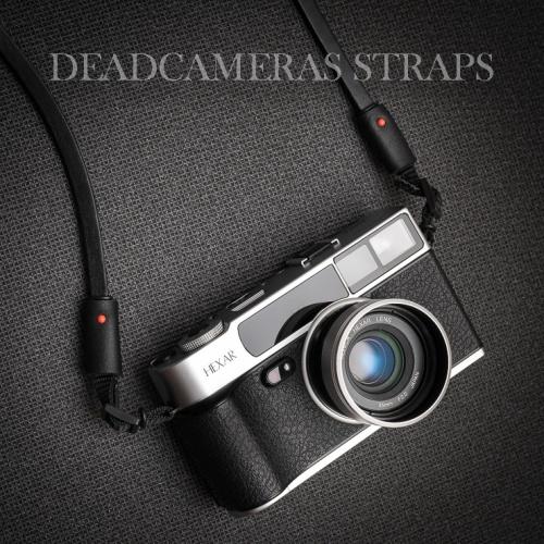 Deadcameras Black Allfit strap Konica Hexar AF-4