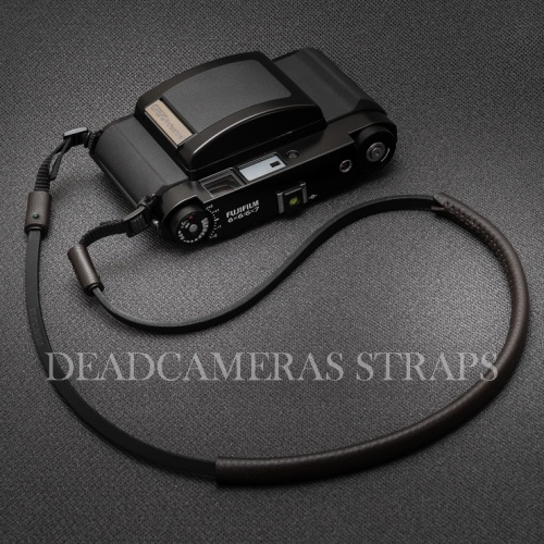 Deadcameras Brown&black Allfit strap Fuji GF670-1
